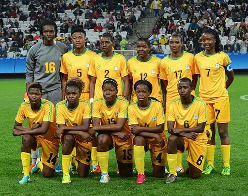 Zimbabwe football team 2016 Olympics women