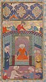 """A Ruler in his Palace"", Folio from a Kulliyat (Complete Works) of Sa'di MET sf13-228-10-f2-d.jpg"