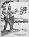 """Attempting to stop train with cowhide rope"" Native American art detail, from- Oracle, The (1921) (14581747268) (cropped).jpg"
