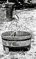 """""""Lej"""" (lijak) za vino točit v sod, Vesela Gora - Brinje 1961.jpg"""