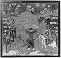 """Rustam Carrying the King of Mazandaran to Kai Kavus"", Folio from a Shahnama (Book of Kings) MET 47059.jpg"
