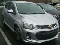 17 Chevrolet Sonic Rs Hatchback Jpg