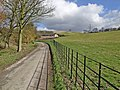 (Private) road to Woo Dale - geograph.org.uk - 721832.jpg
