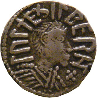 Æthelberht II of East Anglia - One of the four known coins depicting Æthelberht II