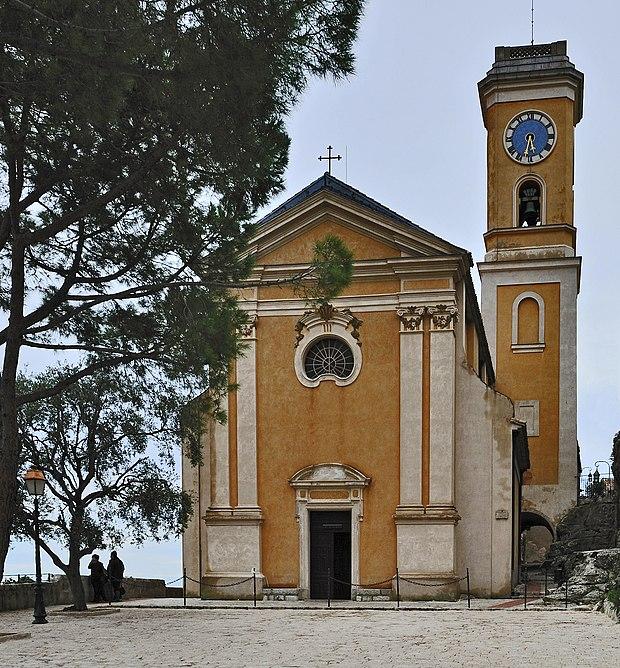 Monument historique à Èze