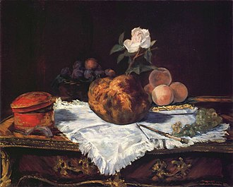 The Brioche - Image: Édouard Manet Brioche