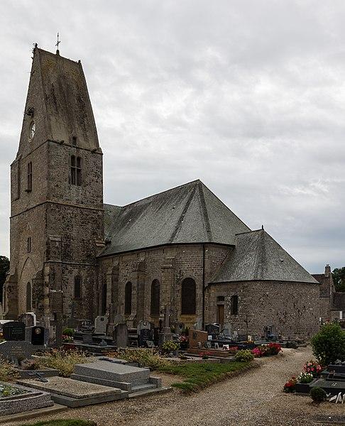 Français:  Église Notre-Dame de Montfarville (France).
