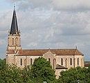Église St Cyr Menthon vue depuis Croix St Cyr Menthon 2018-04-23 1.jpg