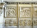 Étampes (91), église Saint-Basile, chemin de croix composé de six bas-reliefs 1.jpg