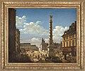Étienne Bouhot - La place et la fontaine du Châtelet - P1286 - Musée Carnavalet - 2.jpg