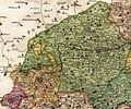 Žatecký kraj na Vogtově mapě 1712.jpg
