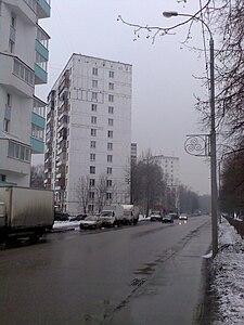 Ангарская улица москва