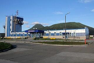 Yuzhno-Kurilsk Mendeleyevo Airport
