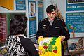 Бойовий прапор Керченської бригади НГУ переданий до Центрального музею НГУ 9683 (26317530531).jpg
