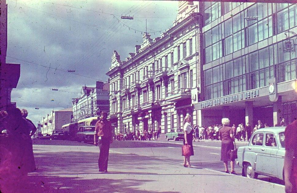 Владивостокский трамвай сентябрь 1982