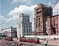 Ворота Минска, Привокзальная площадь, Минск, 1955 год.jpg