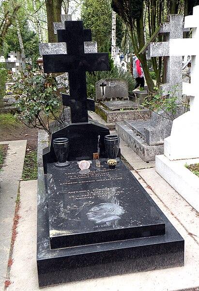 File:Галич АА, могила.jpg