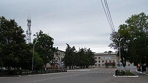 Dalnerechensk - Administration building in Dalnerechensk