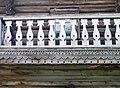 Дом Курланского. Фрагмент. Балкон. Петрозаводск, улица Шуйская, дом 7..JPG