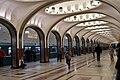 Зал станции Маяковская (Москва, 2011).jpg