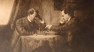 A Chess Game: Lenin with Hitler — Vienna 1909