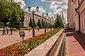 Казанский кремль, все дороги ведут к Спасской башне.jpg