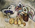 Машков И. И., Натюрморт с белым кувшином и фруктами. 1913г.jpg