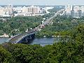Міст Метро, Набережна Дніпра-2.JPG