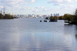 Skyline of Nagatinsky Zaton縣
