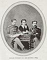 Ольга Алексеевна Новикова с братьями Николаем и Александром (1864 год).jpg