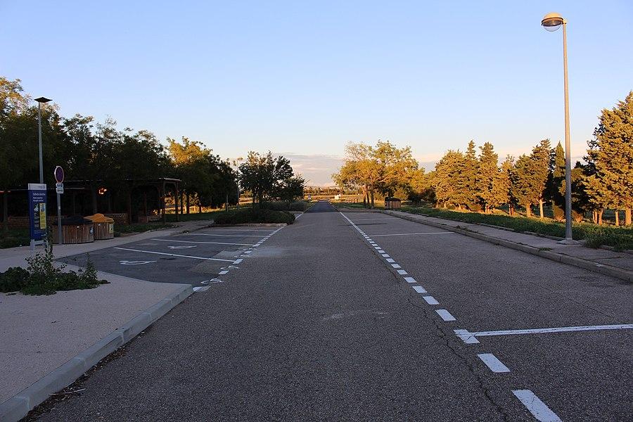 Площадка для отдыха на автостраде A54 (Aire de Repos du Merle Sud)