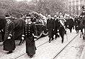Похороны Марии Фёдоровны (09) Траурная процессия проходит по Копенгагену.jpg
