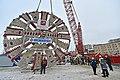 Ротор ТПМК фирмы Herrenknecht на участке строительства Кожуховской линии метро.jpg
