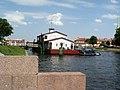 Санкт-Петербург. Лодочная станция у Кронверкского моста.jpg