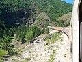 Сербия, поезд в горах Златибор.JPG