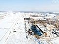 """Строительство аэропорта """"Южный"""". Январь 2016.jpg"""