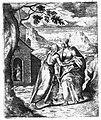 Сустрэча Марыі і Лізаветы. (з кнігі Rosarium...), 1672-1677 гг..jpg