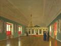 Тутукин Пётр Васильевич — Вид Александро-Невской церкви Аничкова дворца в Санкт-Петербурге (1850).png