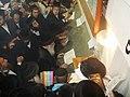 הרב אליעזר שלמה שיק בתפילה על ציונו של רבי נחמן מברסלב באומן.JPG