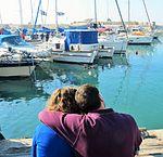 יפו זוג מול נמל.jpg