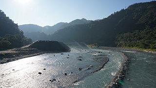 Dajia River river in Taiwan