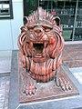 太白广场农行的铜狮 - panoramio.jpg