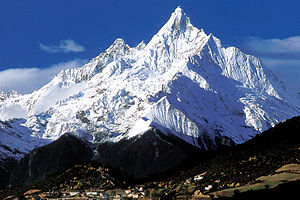 Wild China - Kawagebo (6740m), the highest mountain in Yunnan, lies in the Hengduan range