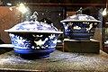 蓝釉堆白鱼藻纹盉盖碗一对 7395.jpg