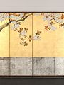 酒井抱一筆 桜図屏風-Blossoming Cherry Trees MET DP704942.jpg