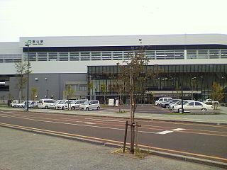 Iiyama Station Railway station in Iiyama, Nagano Prefecture, Japan