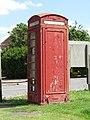 -2019-06-17 Telephone box on the village green, West Runton.JPG