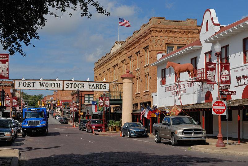 File:0011Fort Worth Stockyards Exchange Ave E Texas.jpg
