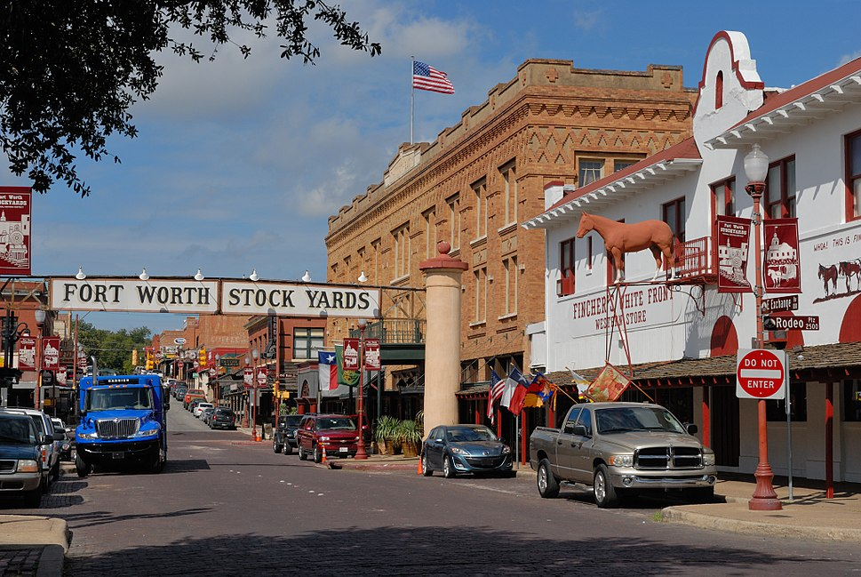 0011Fort Worth Stockyards Exchange Ave E Texas