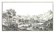 017 Celje, Cilli Kreisstadt - J.F.Kaiser Lithografirte Ansichten der Steiermark 1830